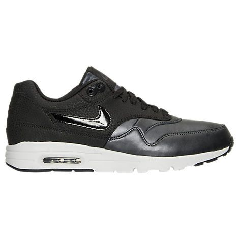 buy popular d31e5 caf37 NIKE WOMEN S AIR MAX 1 ULTRA ESSENTIALS SE CASUAL SHOES, BLACK.  nike  shoes