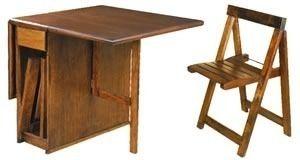 Mesa plegable 4 sillas super oferta deco for Mesas de camping plegables baratas
