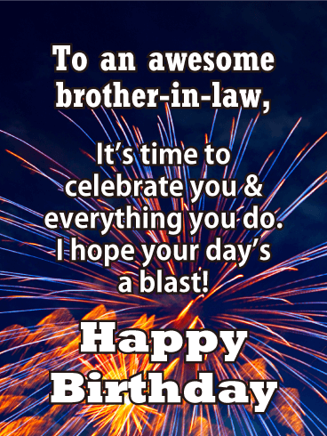 Celebrate You Happy Birthday Card For Brother In Law Birthday Greeting Cards By Davia Birthday Cards For Brother Birthday Greetings For Brother Birthday Brother In Law