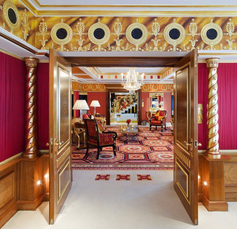 World Visits: Burj Al Arab Hotel In Dubai Suite And Interior  |Burj Arab Hotel Rooms