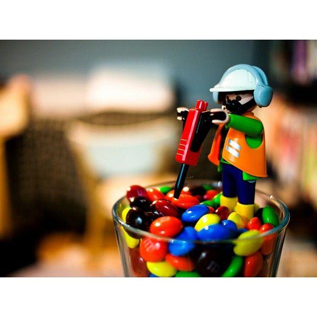#olympus #e-p1 #lumix #20mmf1.7 #플레이모빌 #playmobil #초콜릿 #엠엔엠즈 #m&m