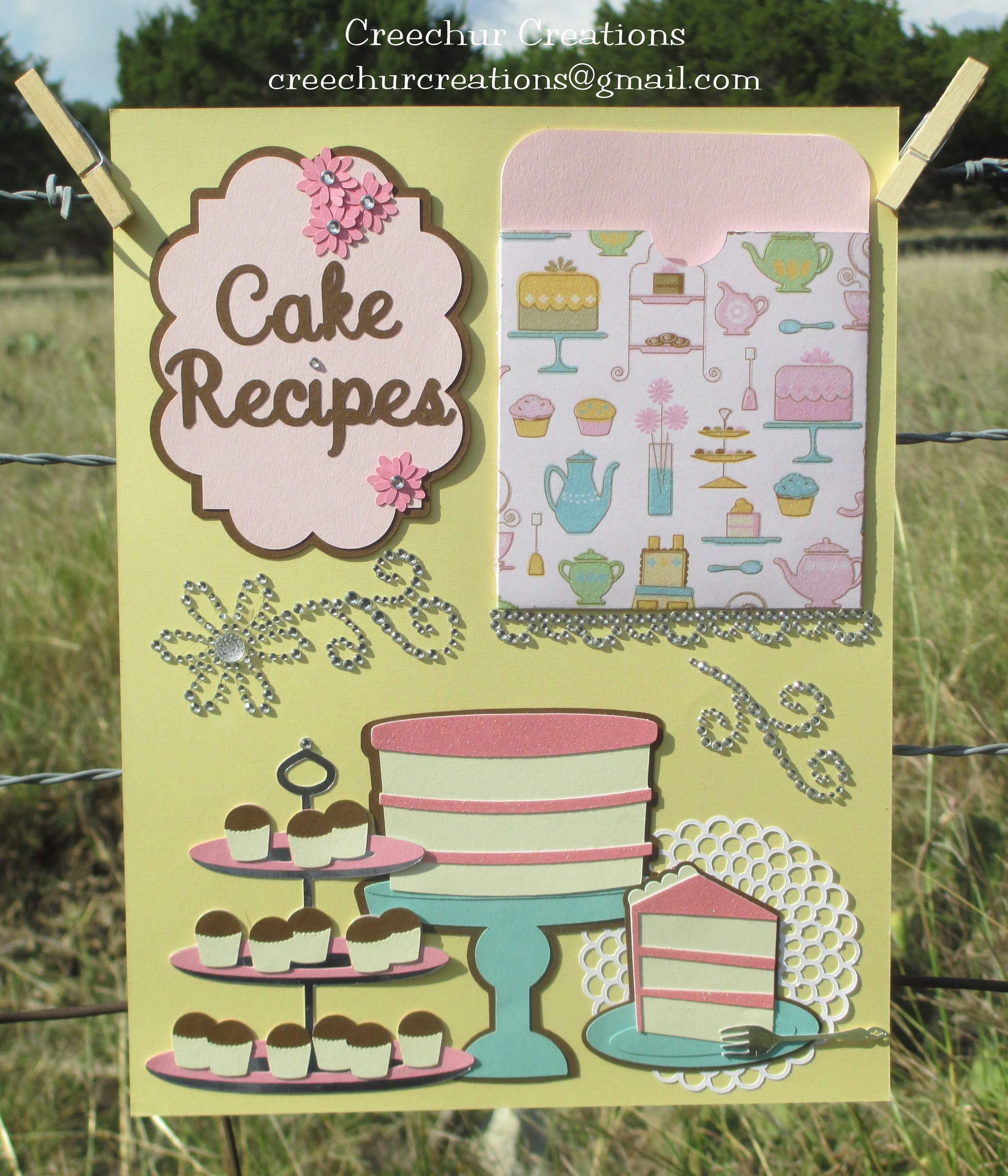 """Recipe Page Using """"From My Kitchen"""" And """"Sweet Shop"""