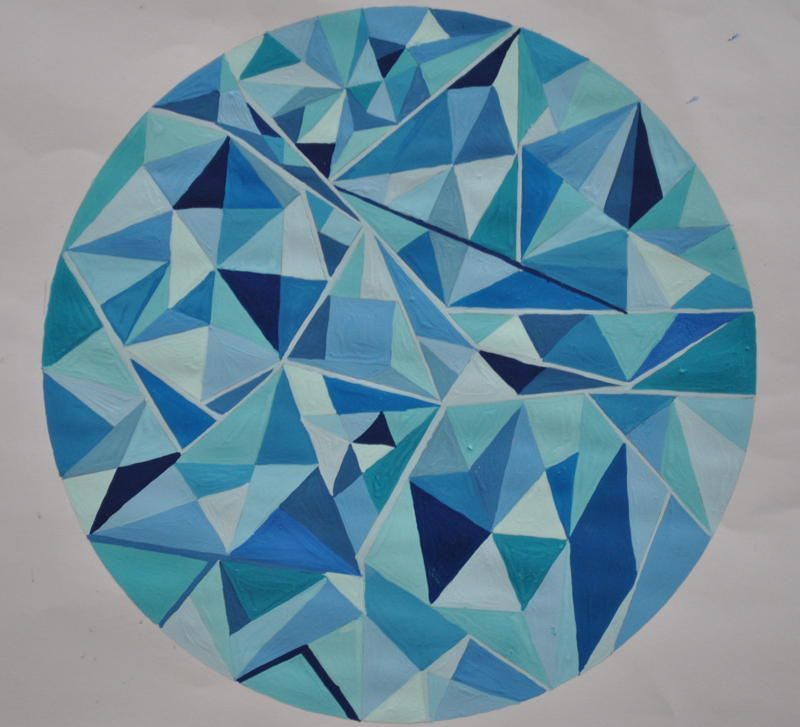 Monochromatic Painting - Google Search