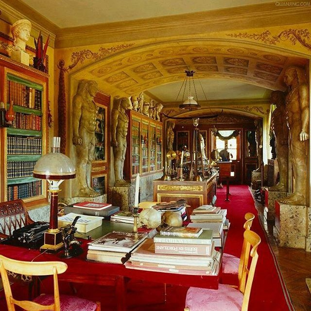 #jacquesgarcia #library #chateau