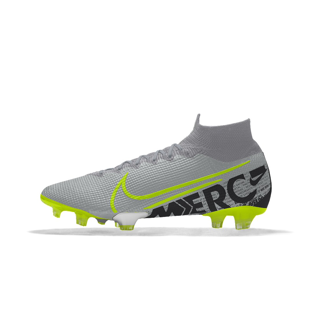 camarera Ciro Habubu  Nike Mercurial Superfly 7 Elite FG By You Custom Firm-Ground Soccer Cleat  (Multi-Color) | Cool football boots, Nike cleats, Nike