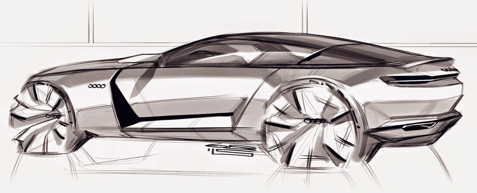 Car sketches and illustrations by Grigory Bars   Car Design ...