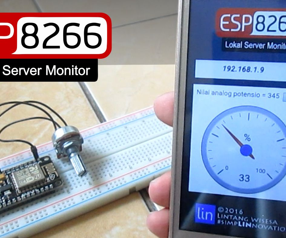 ESP8266 Web Server Monitor & Its Android App | esp8266 | Android