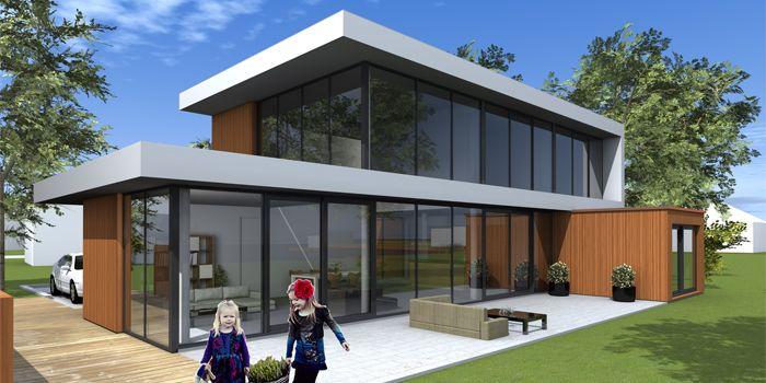 Afbeeldingsresultaat voor zelfbouw vrijstaand ernst for Huizen architectuur