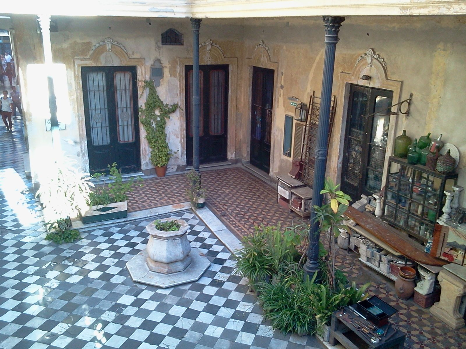 Casa antigua. San Telmo, Buenos Aires. Casas antiguas