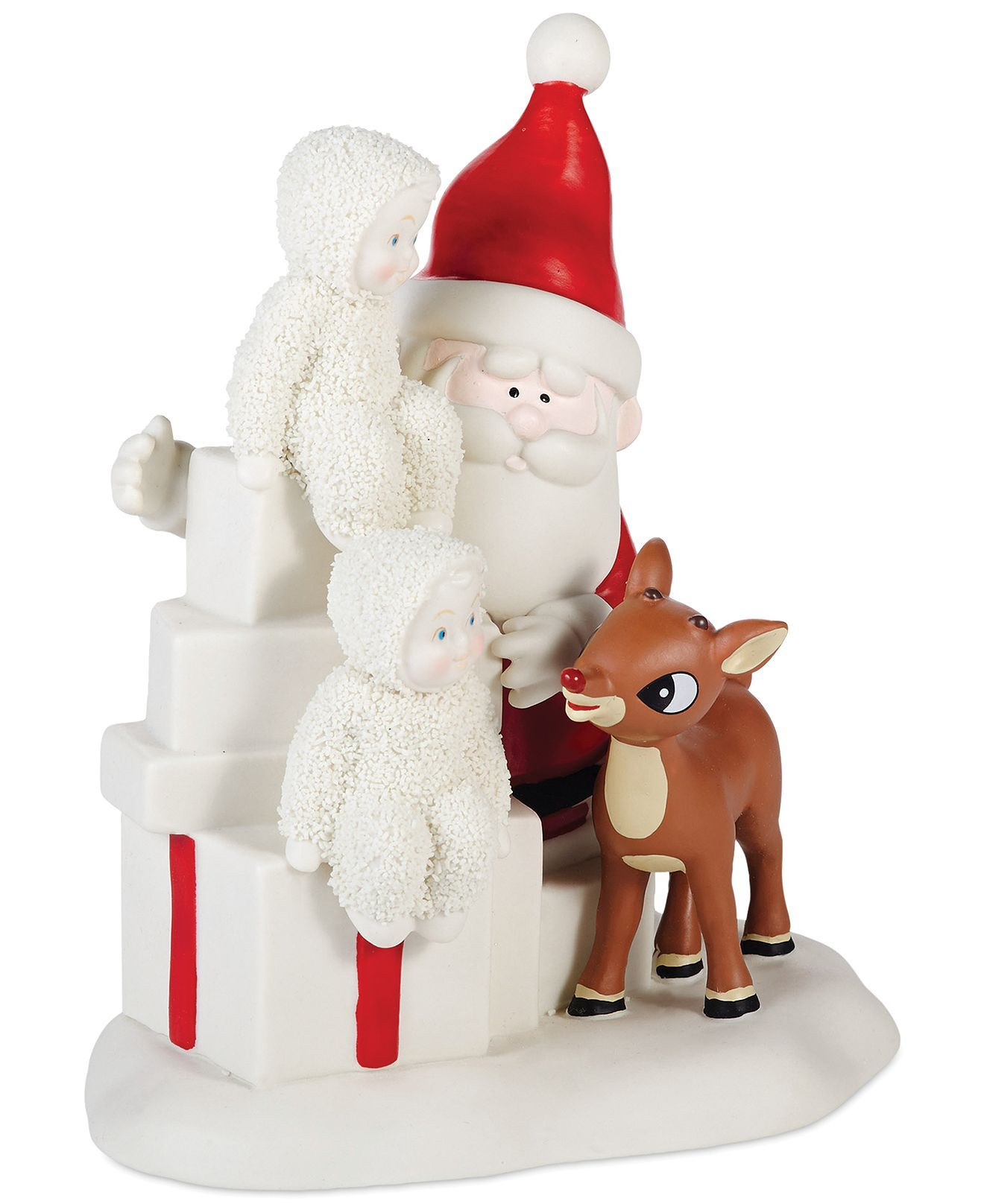 Department 56 snowbabies ornaments - Department 56 Snowbabies Team Rudolph Collectible Figurine Holiday Lane Macy S
