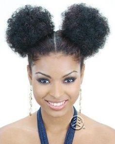 natural puff hair | Natural hair -Puffs So Cute! | Hair