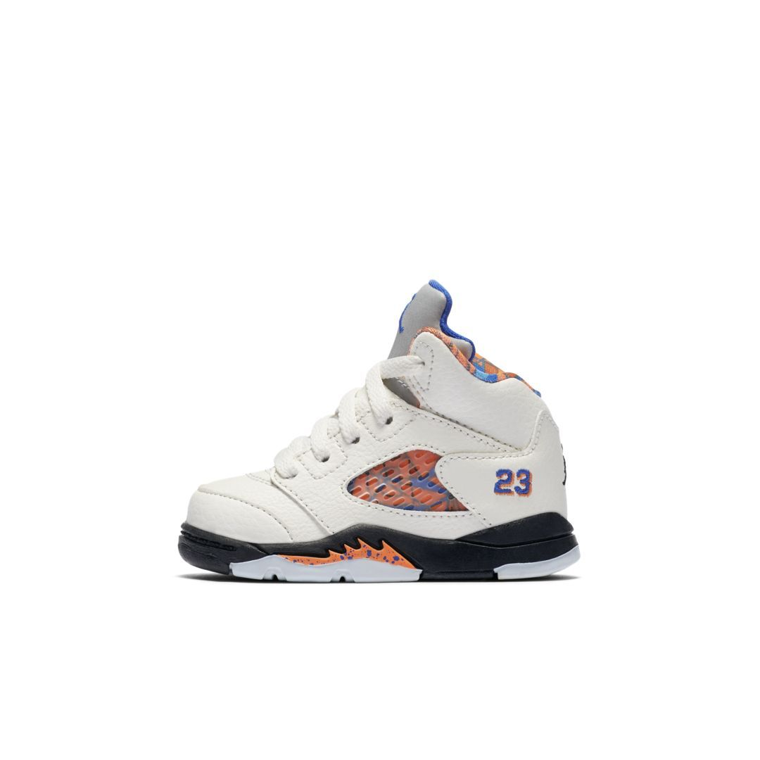 timeless design b4e11 03566 Air Jordan 5 Retro Infant/Toddler Kids' Shoe Size 5C (Sail ...