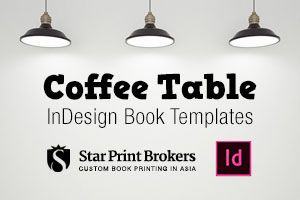 InDesign Coffee Table Book Templates for book designers and self