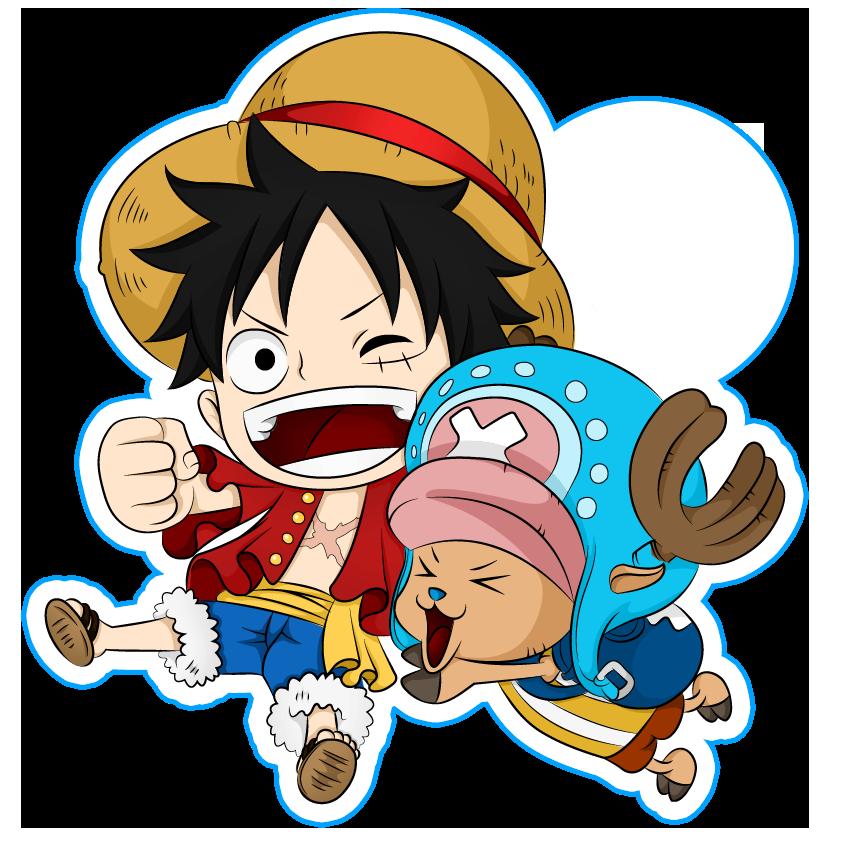 Ảnh Luffy Và Chopper Chibi HD Hình ảnh, Anime, Hình