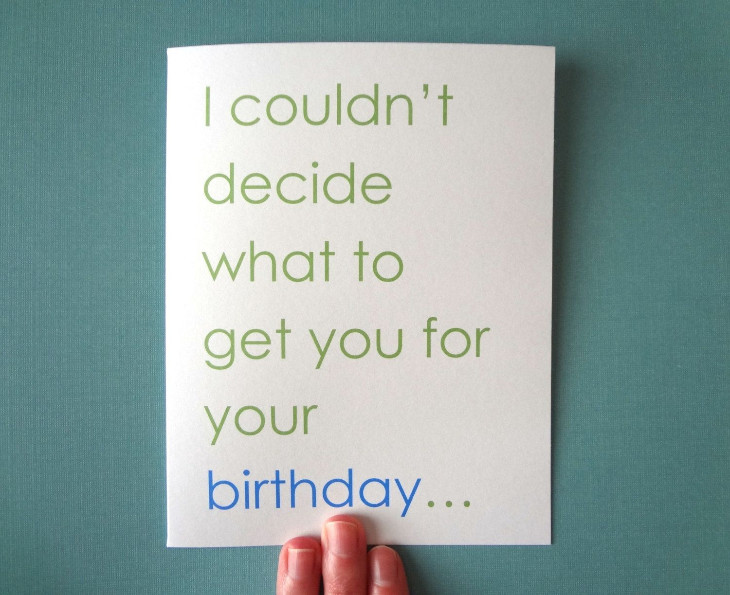 Dirty Birthday Card For Boyfriend, Birthday Card For