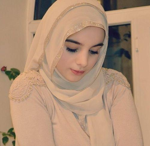 Beautiful girl with hijab