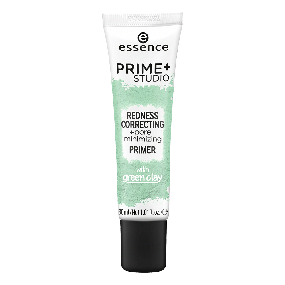 prime+ studio redness correcting + pore minimizing primer
