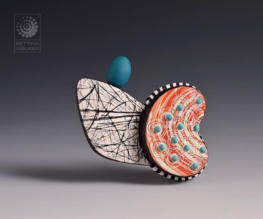Abstract Brooch - by Bettina Welker