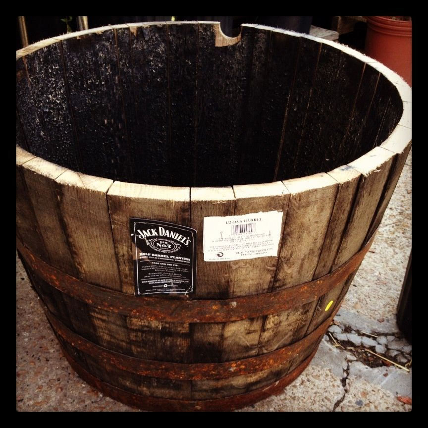 How To Prepare Half Whiskey Wine Barrel Planter Whiskey Barrel Planter Barrel Planter Wine Barrel Planter