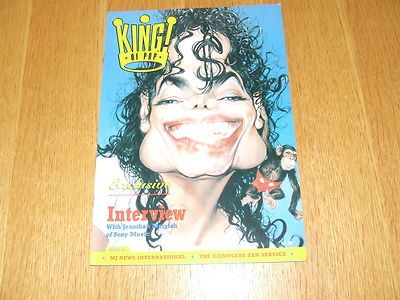 MICHAEL JACKSON KING OF POP UK FANZINE ISSUE 16 NEW COLLECTABLE - http://www.michael-jackson-memorabilia.co.uk/?p=2622