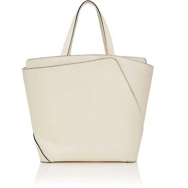 2 bolsos grano bolso en Polyvore Wrap bolso Me Valrapra gustó de mujer de para 009 cuero blanco Bolso ❤ medio marfil de con mano completo bolsos RS070a