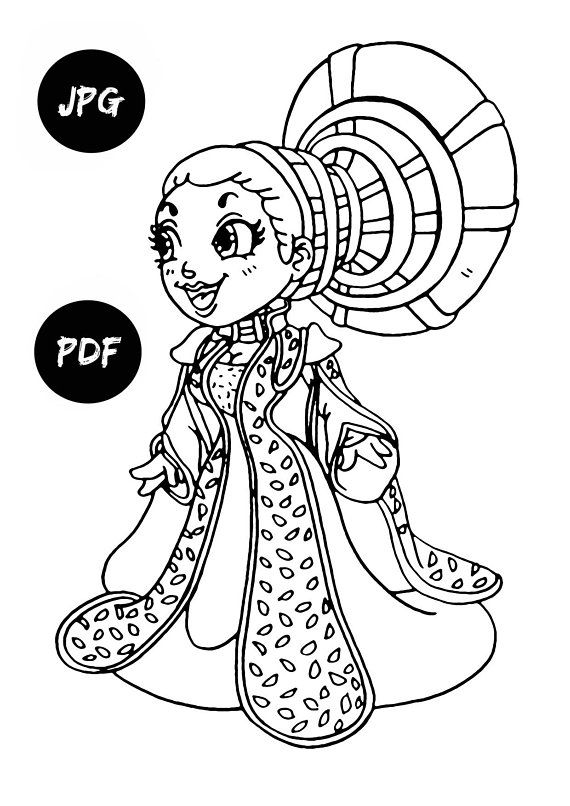 Queen Amidala Coloring Pages Kids Digital Coloring Pages Printable Coloring  Pages Coloring Book Pages Padme Amidala Star Wars Coloring Pages | Fam  Ddaear ...