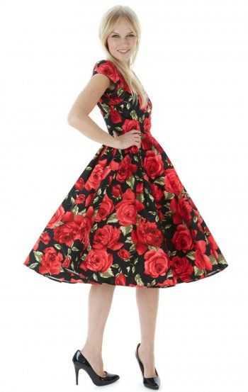Old roses colors dress company