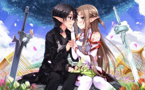 Asuna Yuuki Images And Kirito HD Wallpaper Background Photos