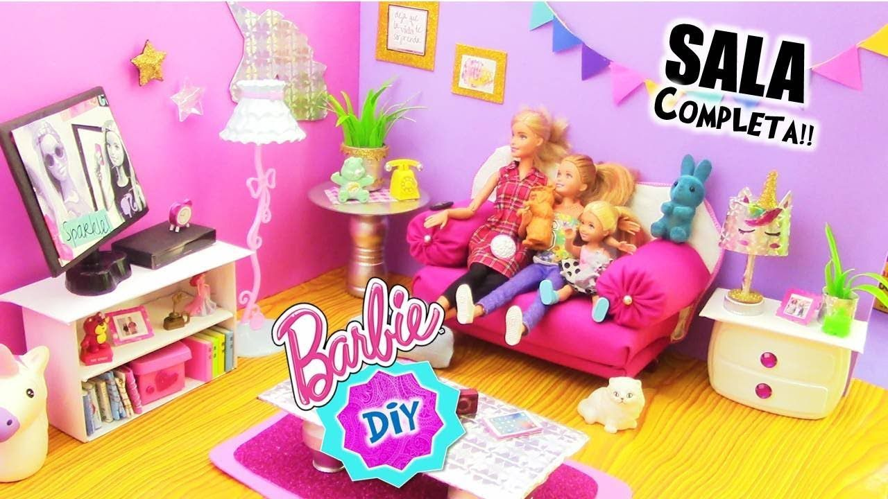 Muebles de muñecas para sala de estar casa de muñecas-sillón sofá mesa-casa de muñecas
