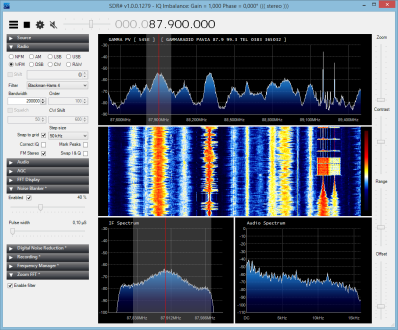 A nice windows app for my ADSB dongle - SDR#   Software