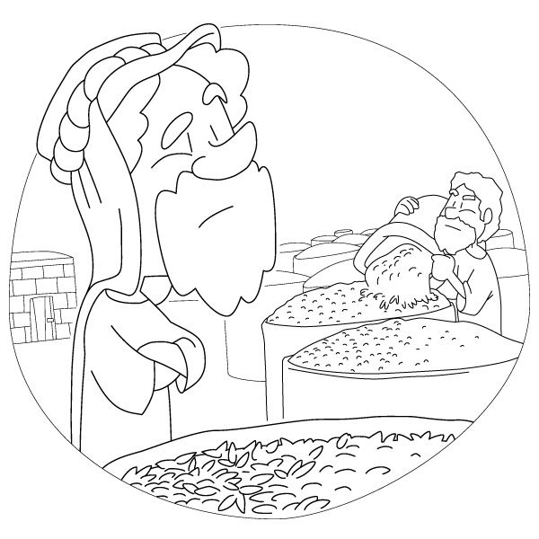 The parable of the rich fool 1 paraboles autres et for The rich fool coloring page