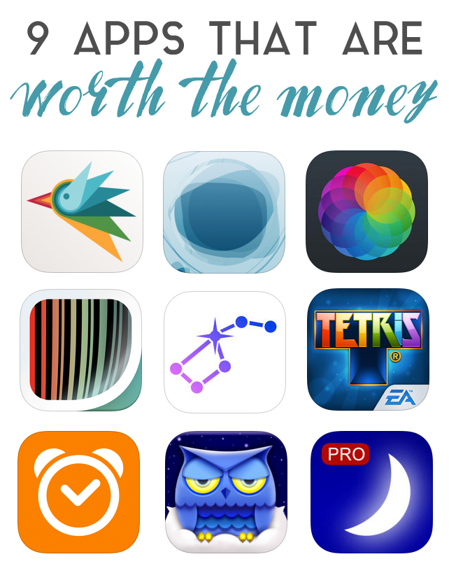 9 Apps That Are Worth The Money | me | App, Money, Free apps