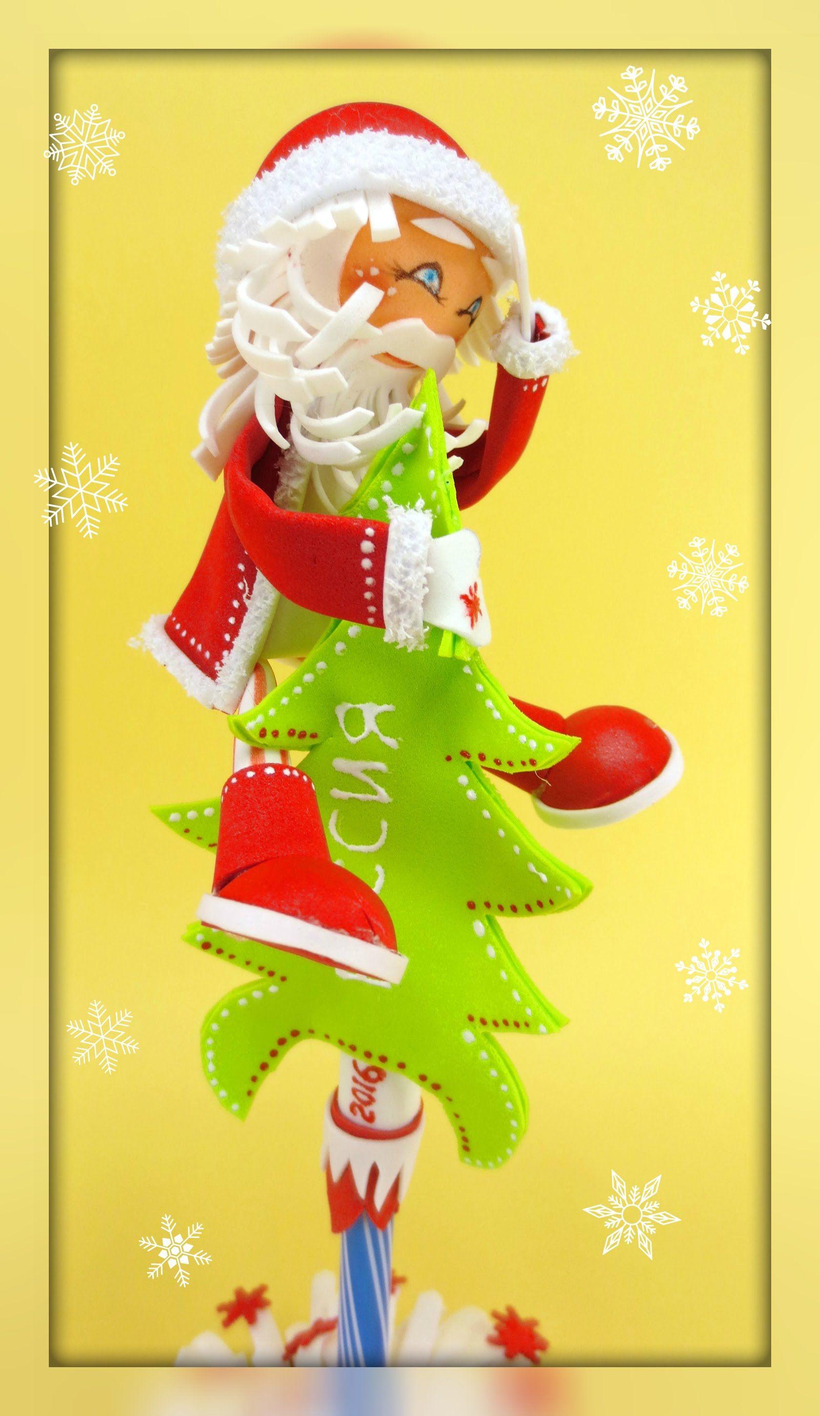 Дед мороз снеговик олень своими руками фото 483