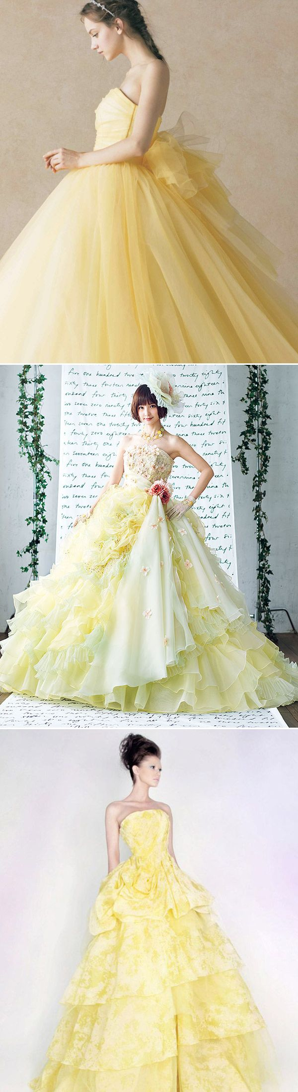 Just A Little Hint Of Pastel Color Takes The Romance Level Up Sweet Feminine And Dreamy Wedding Dress Will Make You: Romantic Pastel Wedding Dresses At Websimilar.org