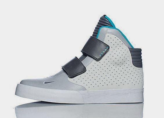 THE SNEAKER ADDICT: Nike Flystepper 2k3 Grey/Blue Sneaker Available No.