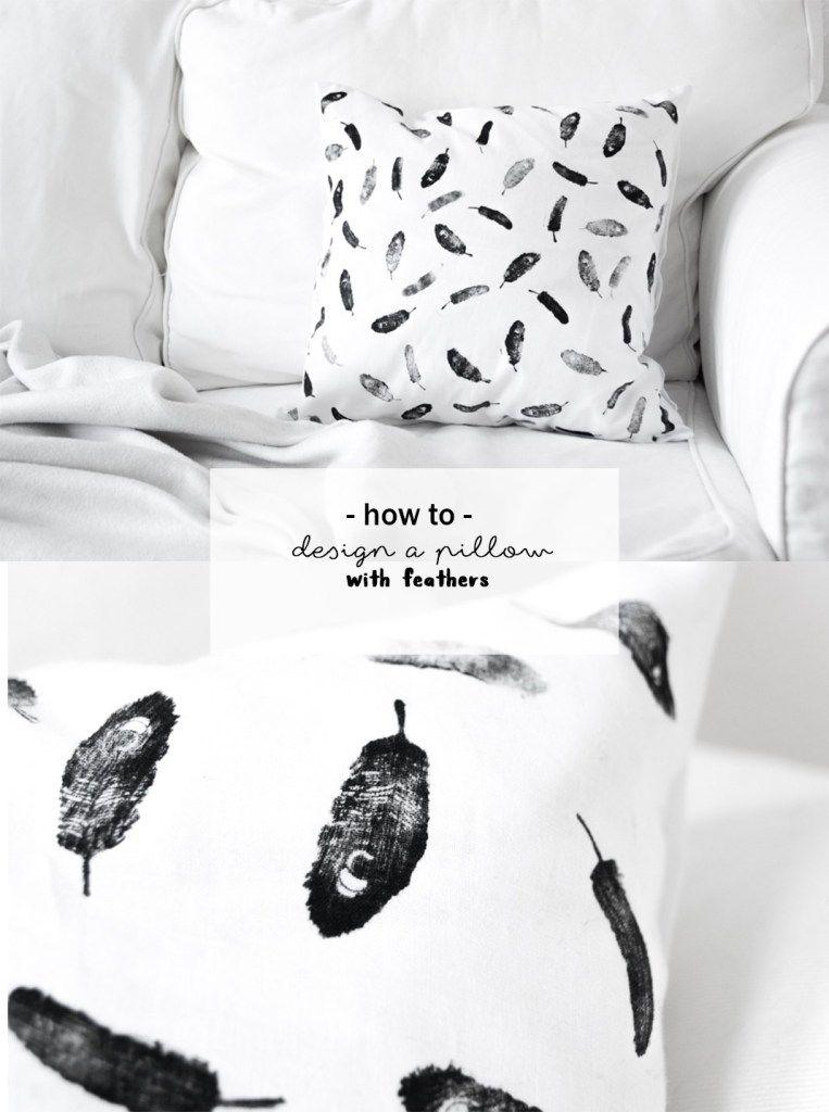 So einfach könnt ihr ein Kissen selbst gestalten | Kissen