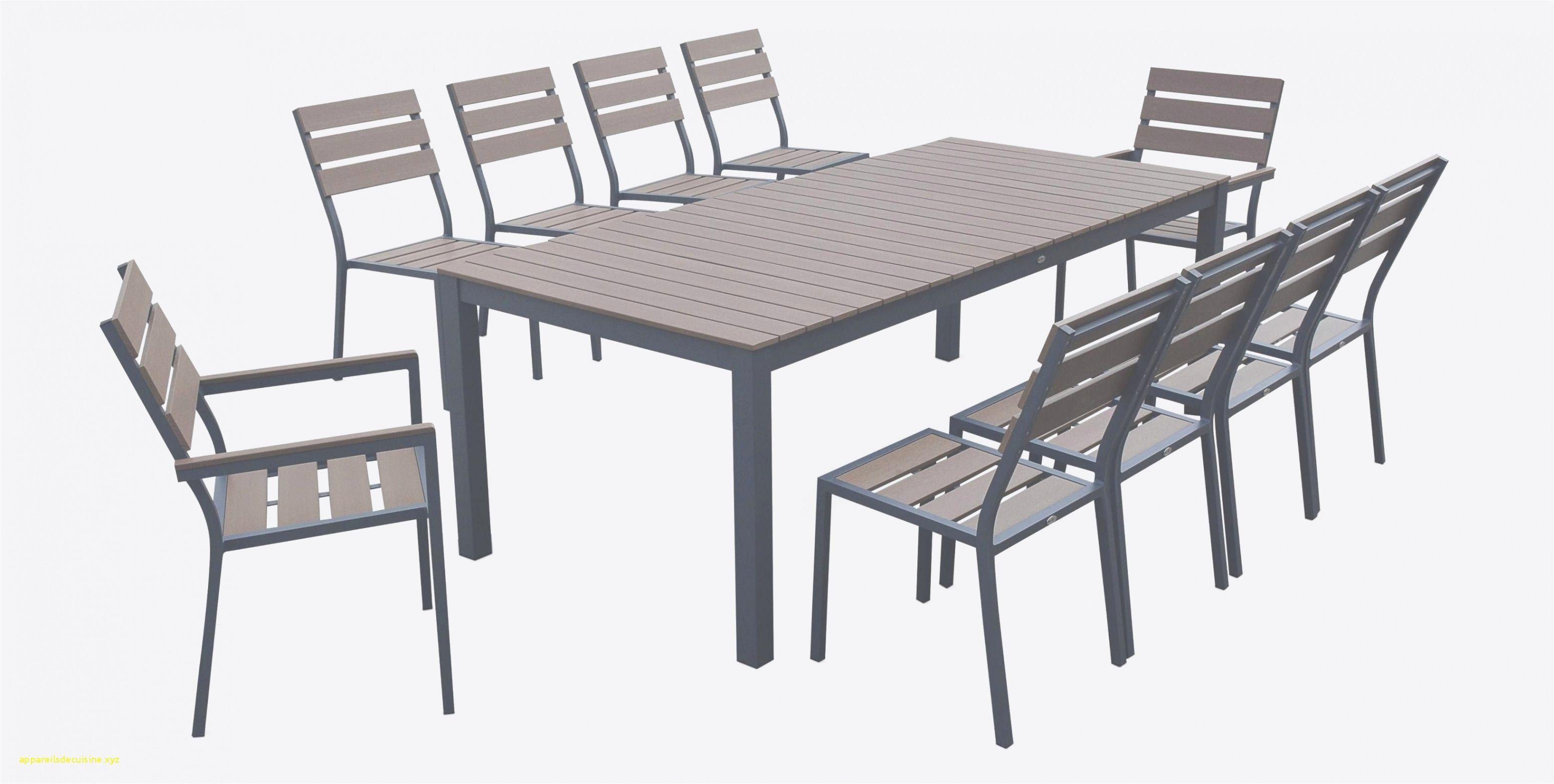 55 Table Salon De Jardin Aluminium