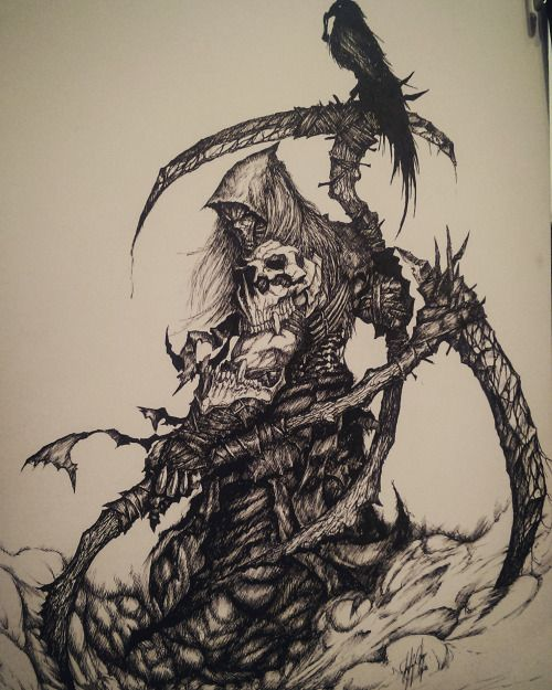Darksiders Death redesign
