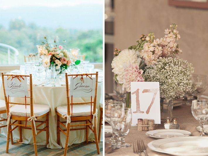 Decoraci n de mesas en una boda rom ntica ideas para mi for Decoracion boda romantica