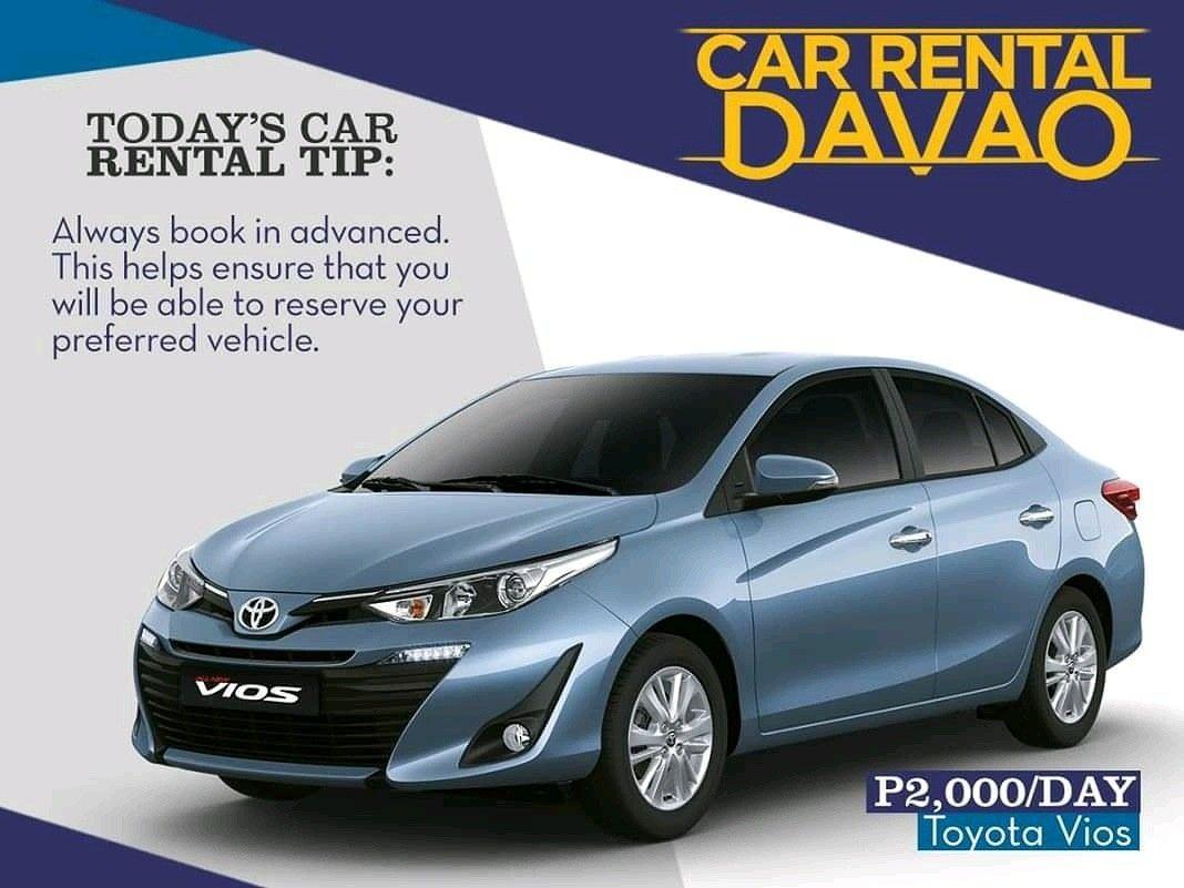Toyota Vios for Rent Davao City Toyota vios, Car, Car rental