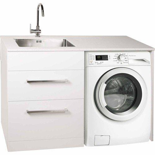 Laundry Station Left W 1300mm D 600mm H 900mm Gloss