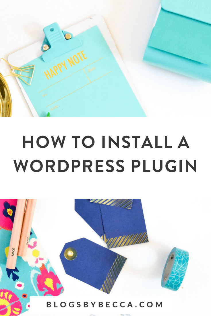How to Install a Plugin to Boost Your Blog! Click to learn how! #wordpress, #blog, #blogging, #blogtips