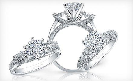 68 For 150 Toward Designer Jewelry At Gross Diamond Co White Gold Diamond Engagement Ring Jewelry Jewelry Design
