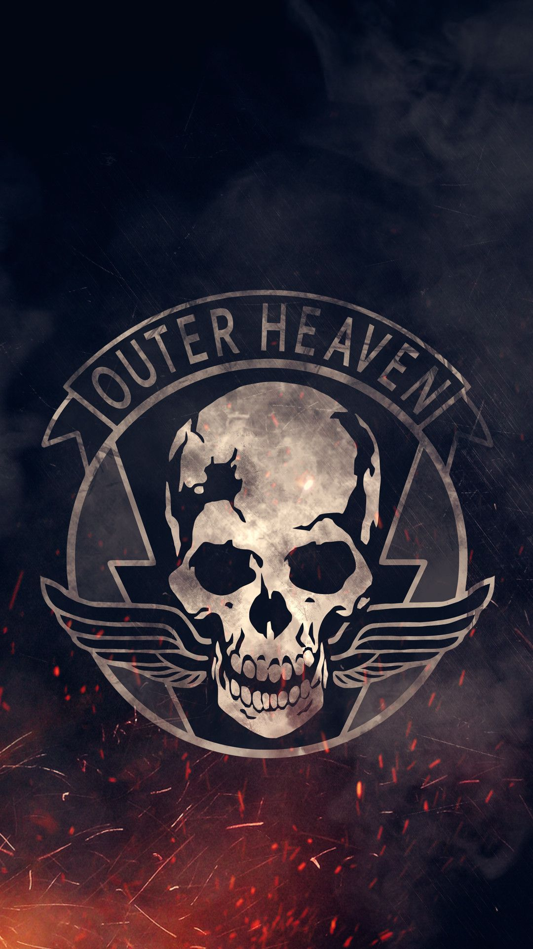 I Made An Outer Heaven Iphone6 Wallpaper Metal Gear V Metal Gear Metal Gear Solid