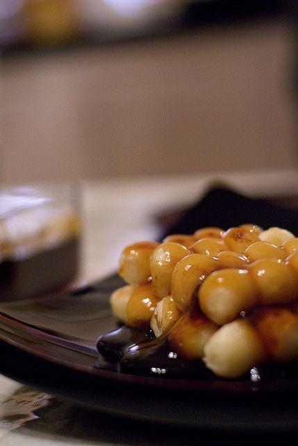 Japanese sweet rice dumplings