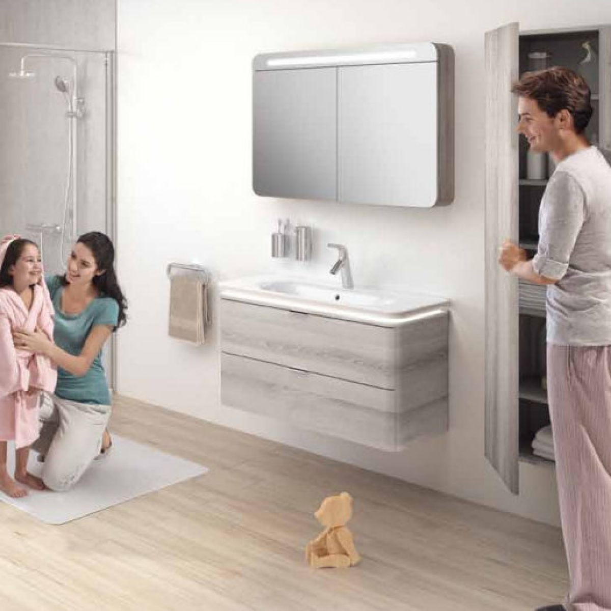 Vitra Nest Tall Column Unit with 1 Door | Vitra bathrooms, Nest and ...