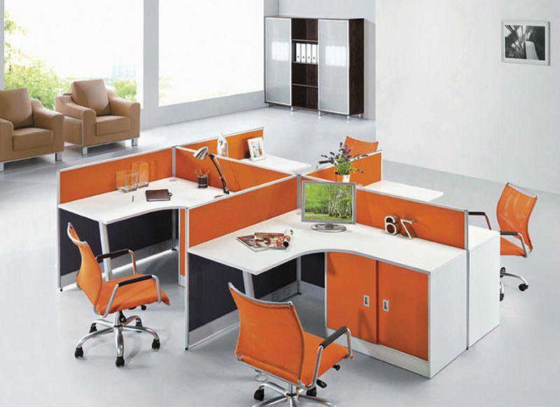 call center furniture workstation modern office screen partition design modular cubicle screen steel frame
