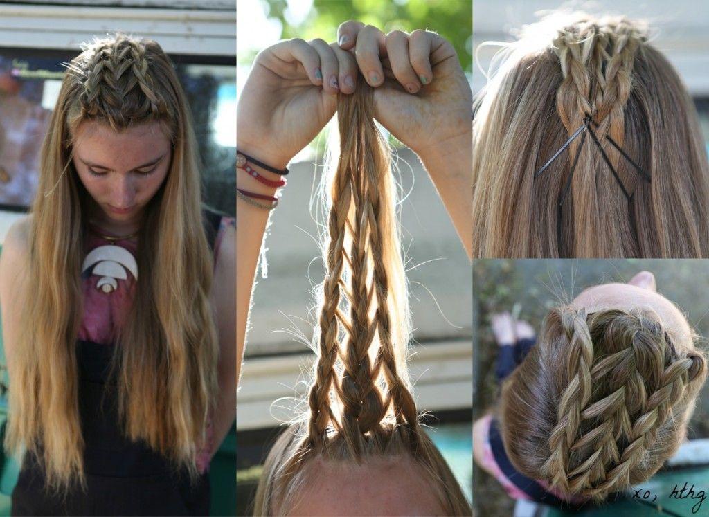 How-To Hair Girl   Fierce Braids #8......Mad Max Braids #hthg # freeyourhair #madmax
