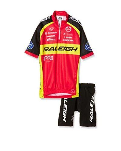 MOA FOR PROFI TEAMS Coordinato Sportivo Raleigh  [Rosso/Giallo/Nero]