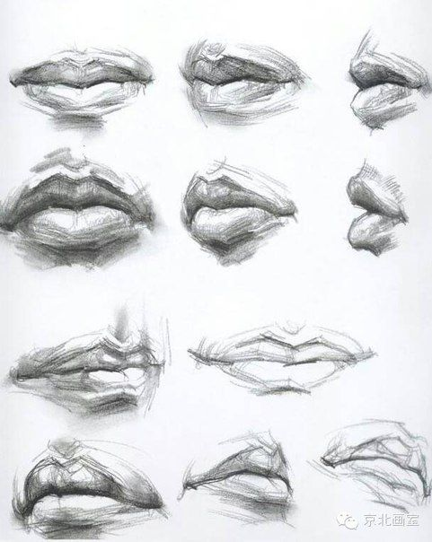 Wow Proper way of learning Different ways of Drawing Lips
